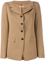 Aalto buttoned jacket - women - Viscose/Virgin Wool - 38