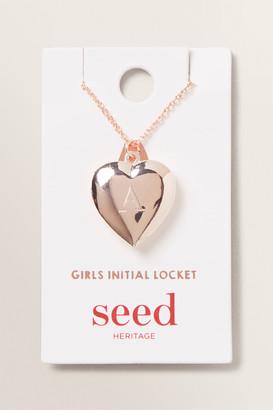 Seed Heritage Initial Locket