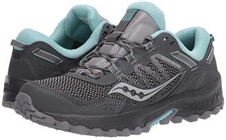 Saucony Versafoam Excursion TR13 (Charcoal/Blue) Women's Running Shoes