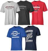 Dickies 5 Pack Mens T Shirt - Size Sm-3X