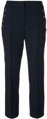 Veronica Beard Cropped Tailored Trousers