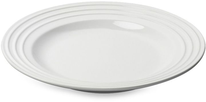 Le Creuset 12-Inch Dinner Plate in White