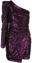 Iorane asymmetric sequinned dress