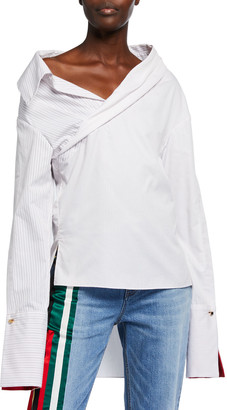 Hellessy Stella Cotton Wrapped Shirt