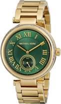 Michael Kors Women's Skylar MK6065 Gold Stainless-Steel Quartz Watch
