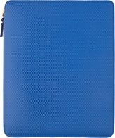 Comme des Garcons Wallets Blue Leather iPad Case