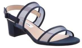 Nina Ganice Mesh Sandals