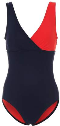 Karla Colletto Helene colorblocked swimsuit