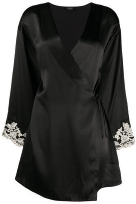 La Perla Maison Silk Short Robe