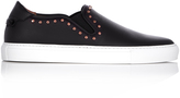 Givenchy Stud-embellished low-top leather trainers