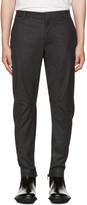 Lanvin Grey Moto Trousers