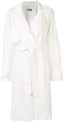 Izzue Belted Trench Coat