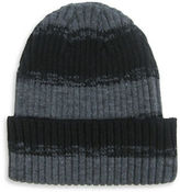 Hudson North Rugby Striped Turn Cuff Tuque