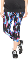 Motherhood Secret Fit Belly Maternity Active Pants- Multi Print