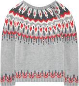 Lili Gaufrette Viscose and wool sweater
