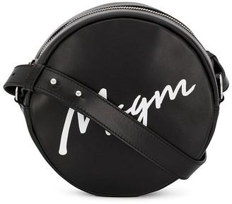 MSGM round-shaped shoulder bag