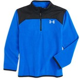 Under Armour Boy's Shellshock Quarter Zip Pullover