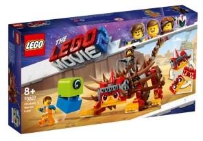 Lego Ultrakatty & Warrior Lucy! 70827