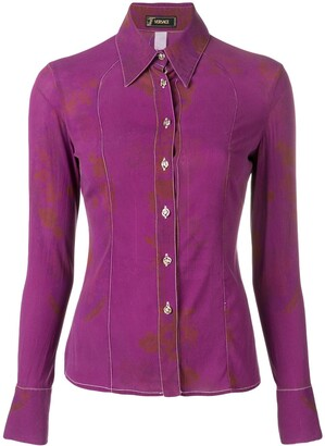 Versace Pre-Owned 2000's slim-fit shirt