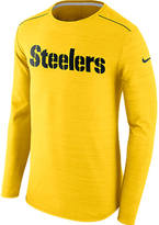 Nike Men's Pittsburgh Steelers NFL Long-Sleeve Poly Player T-Shirt