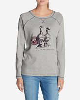 Eddie Bauer Women's Legend Wash Graphic Sweatshirt