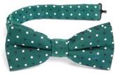 Nordstrom Boy's Dot Cotton & Silk Bow Tie