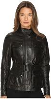 Belstaff Triumph 2.0 Signature Hand Waxed Leather Jacket Women's Coat