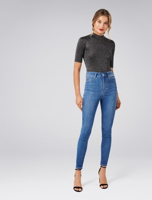 Ever New Sierra Metallic Knitted Top