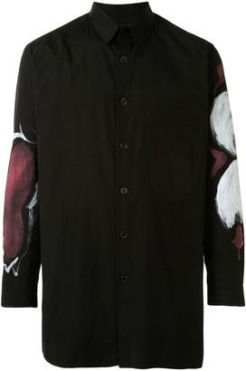 Yohji Yamamoto Abstract Print Shirt