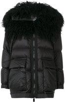 Sacai padded coat - women - Feather Down/Nylon/Polyester - 1