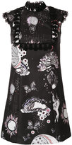 Giamba floral shift dress