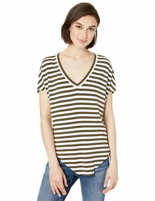 Bailey 44 Women's Ocelot Stripe Knotted Front Top