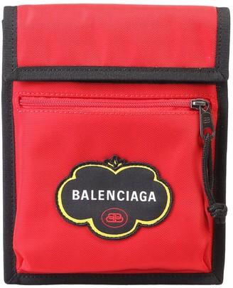 Balenciaga Logo Crossbody Bag
