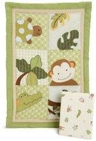 Lambs & Ivy Papagayo Mini Crib Set, Green by