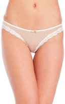 Honeydew Emily Lace Trim Thong