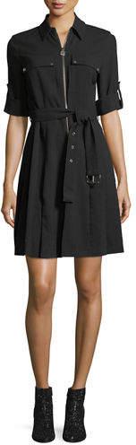 be52f3a6752 MICHAEL Michael Kors Zip Front Dresses - ShopStyle