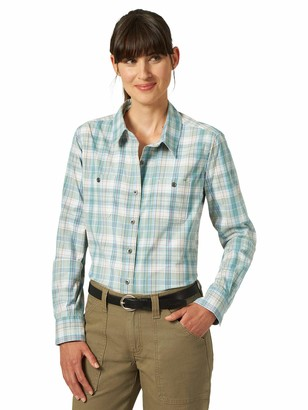Riggs Workwear Women's Long Sleeve Two Pocket Workshirt