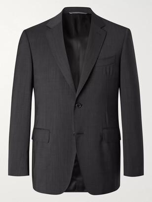 Canali Slim-Fit Nailhead Wool Suit Jacket