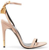 Tom Ford Leather Sandals - Beige
