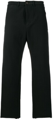 Individual Sentiments Woven Straight Leg Trousers