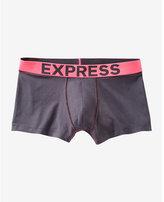 Express color block knit sport trunk
