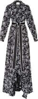 Alexis Ladda Tie Waist Paisley Dress