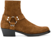 Balenciaga harness ankle boots - men - Leather/Suede - 40