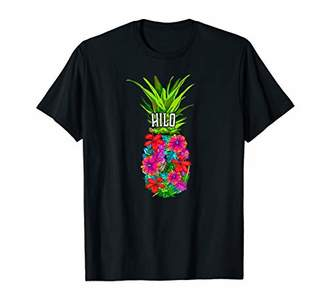Hilo Tropical Pineapple Flower Vacation product T-Shirt