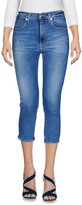 (+) People + PEOPLE Denim capris - Item 42597761