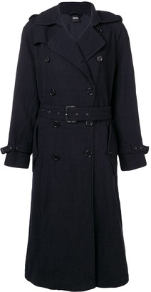 Aspesi Double Breasted Trench Coat