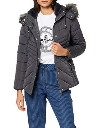 New Look Petite Women's P OP Maisie Fitted Padded Puff Jacket,(Size:)