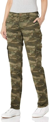 Dickies Women's Relaxed Fit Stretch Cargo Straight Leg Pant