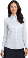 Brooks Brothers Non-Iron Tailored Fit Frame Stripe Dress Shirt