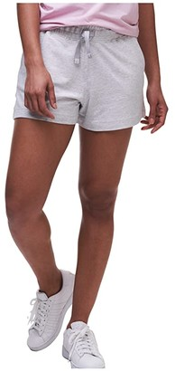 tasc Performance Riverwalk French Terry Shorts (Light Heather Gray) Women's Shorts